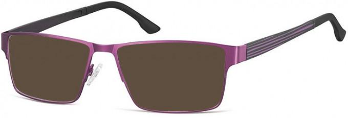 SFE-9740 Sunglasses in Dark Purple