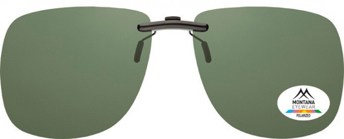 SFE-9830 Polarized Clip on Sunglasses in G15