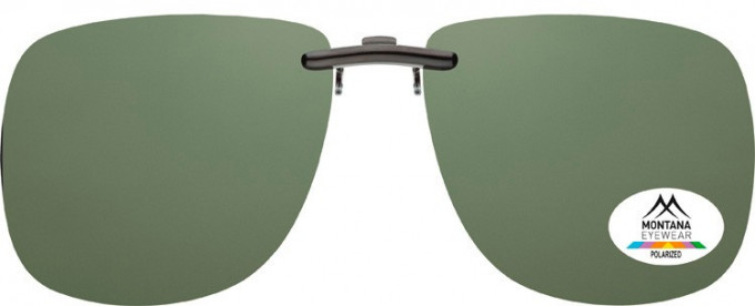 SFE-9831 Polarized Clip on Sunglasses in G15