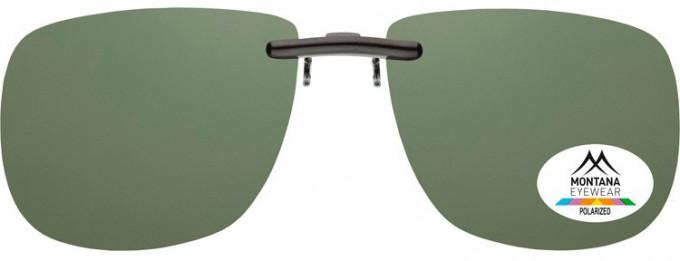 SFE-9832 Polarized Clip on Sunglasses in G15