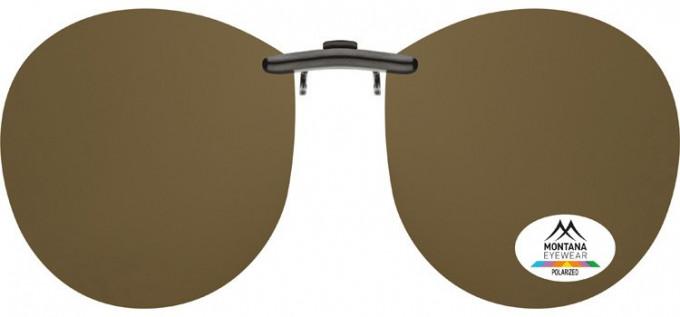 SFE-9834 Polarized Clip on Sunglasses in G15