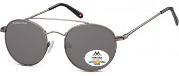 SFE-9871 Polarized Sunglasses in Gunmetal/Smoke