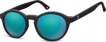 SFE-9874 Sunglasses in Black/Green