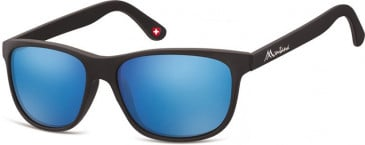 SFE-9891 Sunglasses in Black/Blue