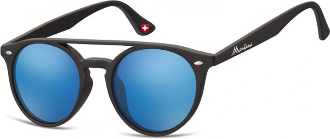 SFE-9892 Sunglasses in Black/Blue
