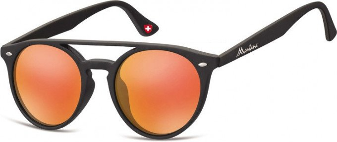 SFE-9892 Sunglasses in Black/Red