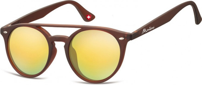 SFE-9892 Sunglasses in Brown/Gold
