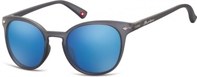 SFE-9893 Sunglasses in Dark Grey/Blue