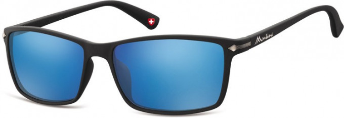 SFE-9894 Sunglasses in Black/Blue