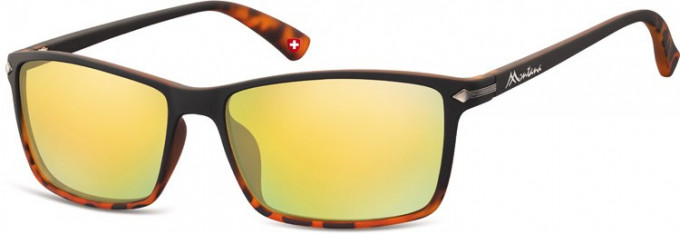 SFE-9894 Sunglasses in Black/Turtle/Gold