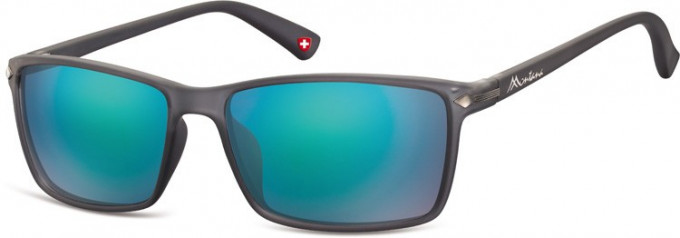 SFE-9894 Sunglasses in Dark Grey/Green