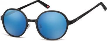 SFE-9895 Sunglasses in Black/Blue