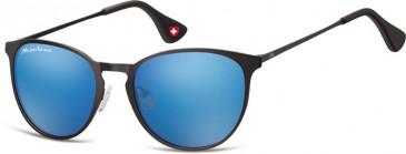 SFE-9896 Sunglasses in Black/Blue