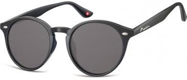 SFE-9906 Sunglasses in Black/Smoke