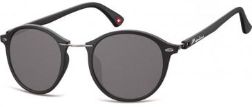 SFE-9908 Sunglasses in Black/Smoke