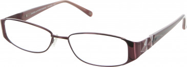 Diane von Furstenberg DVF8005 Glasses in Burgundy