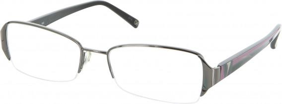 Diane von Furstenberg DVF8013 Glasses in Glasses Shiny Gunmetal