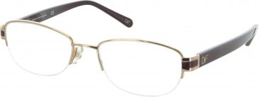 Diane von Furstenberg DVF8039 Glasses in Gold