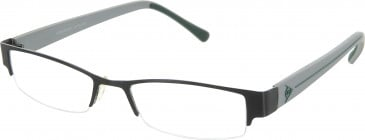 Dunlop D119 Glasses in Black