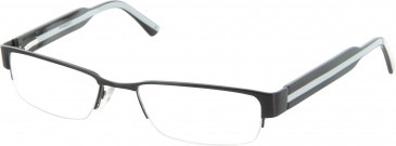 Dunlop D121 Glasses in Black