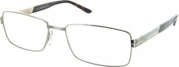Jaguar JAG33055 Glasses in Gold/Silver