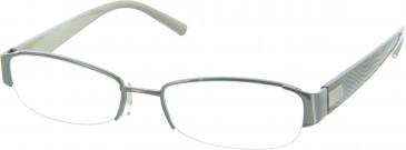 Calvin Klein Glasses in Grey Green