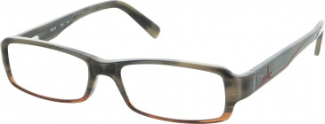 Calvin Klein Glasses in Grey Horn
