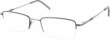 Gant CLINTON glasses in Black/Silver