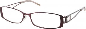 Gant ALEYNA glasses in Burgundy