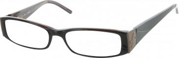 Guess GU1602 glasses in Dark Brown