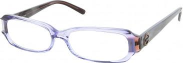 Guess GU1414 glasses in Clear Blue