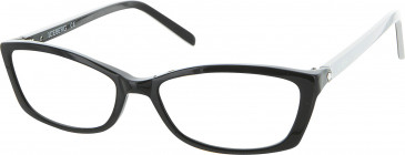 Iceberg IC256V glasses in Black/White