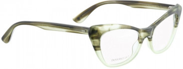 Entourage of 7 DORIS Glasses in Green Crystal