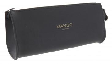 Mango Zip Glasses Case in Black