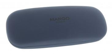 Mango Glasses Case in Blue