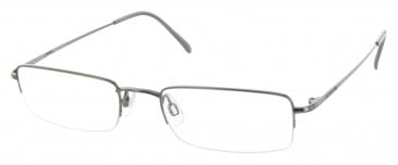 JAEGER 242 Designer Prescription Glasses in Gunmetal