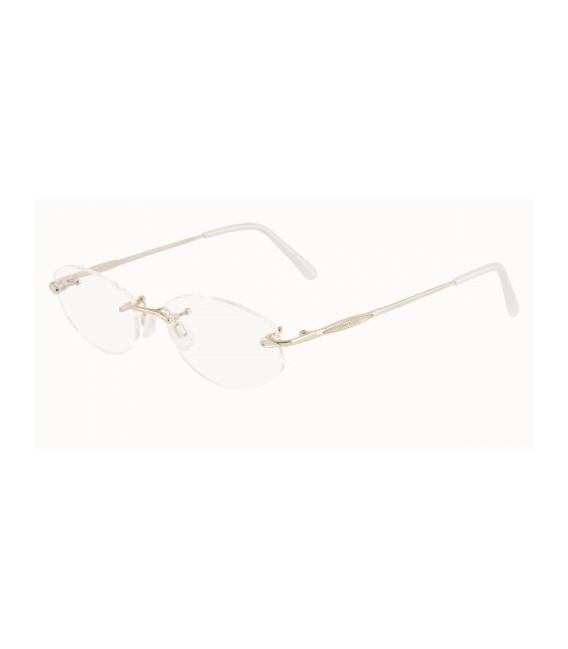 JAEGER 228 Designer Prescription Glasses in Gold/Palladium