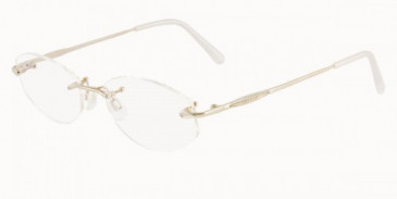 JAEGER 228 Designer Prescription Glasses in Gold/Palladium