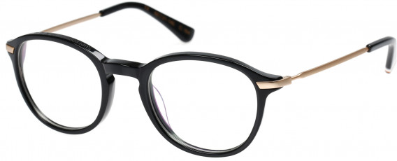 Superdry SDO-FRANKIE Glasses in Gloss Black/Gold