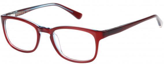 Superdry SDO-JUDSON Glasses in Gloss Burgundy/Blue