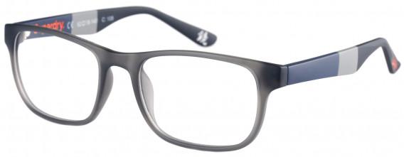 Superdry SDO-KABU Glasses in Matte Grey/Navy