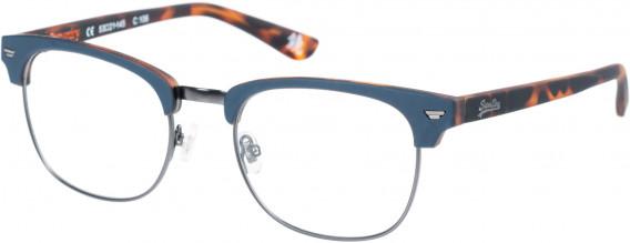 Superdry SDO-SACRAMENTO Glasses in Navy/Tortoise
