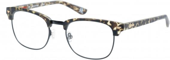 Superdry SDO-SACRAMENTO Glasses in Matte Khaki Tortoise