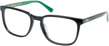 Superdry SDO-BARNABY Glasses in Gloss Black/Green