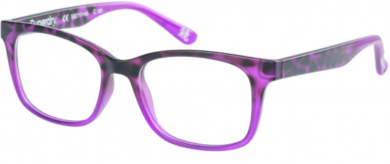 Superdry SDO-MAIKA Glasses in Matte Purple Tortoise