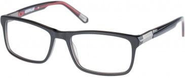 CAT CTO-THREAD Glasses in Matte Black/Red