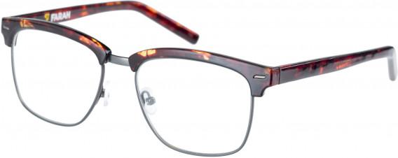 Farah FHO-1010 Glasses in Matte Tortoiseshell/Gunmetal