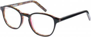 Farah FHO-1011 Glasses in Black/Tortoiseshell