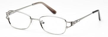 Rafaelle RAF115 Glasses in Shiny Light Gunmetal