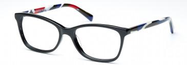 Crosshatch CRF518 Glasses in Black